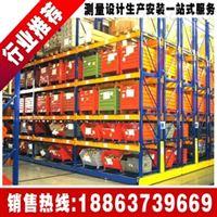 厂家供应仓储货架中型货架移动式货架 蝴蝶孔货架阁楼式货架